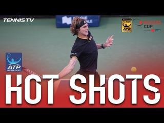 Hot Shot: Zverev Saves Match Point After 49-Shot Rally