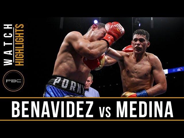 Benavidez vs Medina HIGHLIGHTS: May 20, 2017 - PBC on FS1