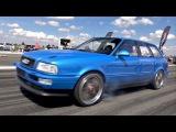 800HP Audi S2 Avant - Fast 14 Mile Test Run - PURE TURBO SOUNDS!!
