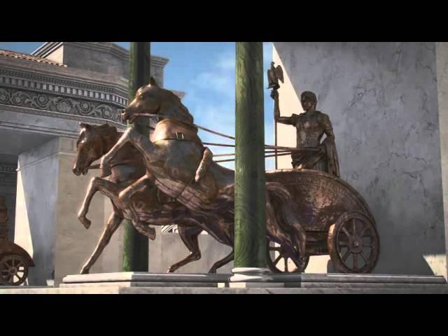 Термы Диоклетиана 3D, Рим, Италия / Terme di Diocleziano 3D