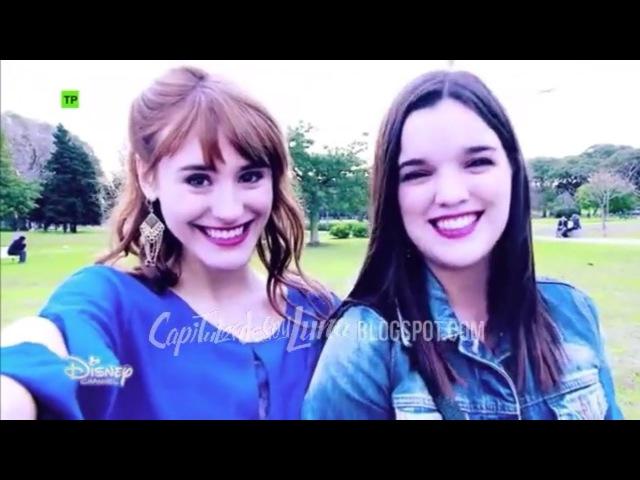 Soy Luna 2 - Delfi y Jazmín anuncian en el Fab and Chic el Open Music - Capítulo 16