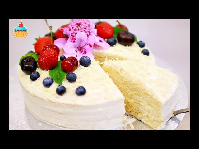 ТОРТ МОЛОЧНАЯ ДЕВОЧКА / Milchmädchen / MILKY GIRL CAKE.