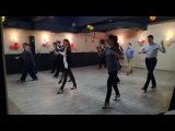 Урок базовой группы аргентинского танго в DanceVivo. Тема а урока кресты.