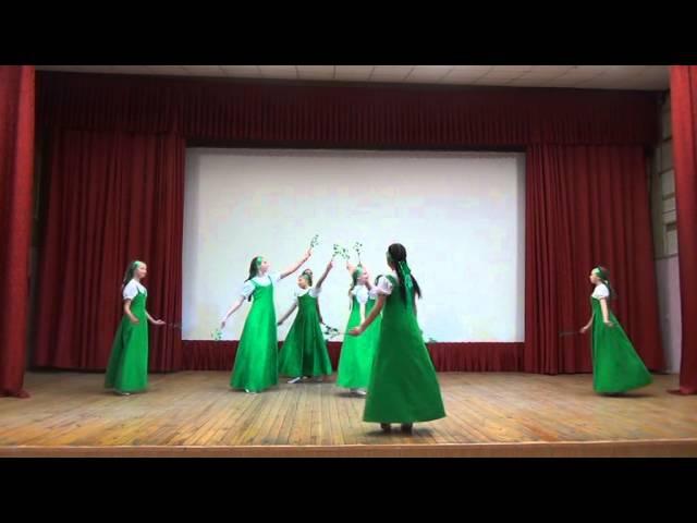 Ансамбль танца Ровесники- хоровод Россия