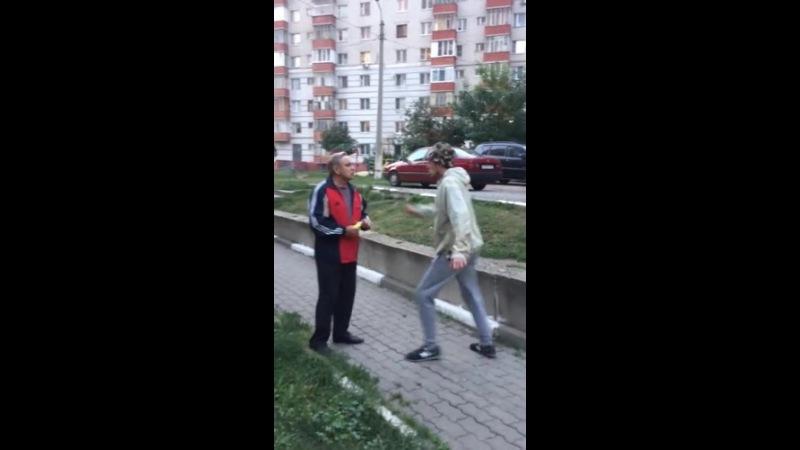 Оккупай-Педофиляй Белгород-Неожиданная встреча с Сапрыкиным