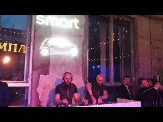 DJ Project S-Brother-S, презентация нового Smart, Москва, 28 апреля 2016 г.