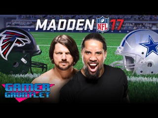 Madden 17 Tournament Rd. 1: AJ Styles vs. Jey Uso — Gamer Gauntlet