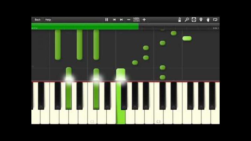 TATARKA – АЛТЫН ALTYN Piano Cover [Synthesia Piano Tutorial]