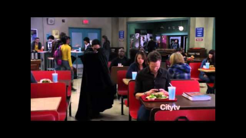 Abed as 'The Cape'
