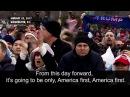 President Donald Trump's Inaugural Address Highlights