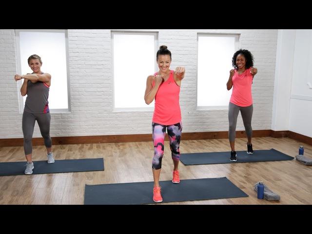 Anna Renderer - Full-Body No-Equipment Cardio Workout (Popsugar) | Анна Рендерер - Кардио-тренировка