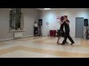 Аргентинское танго в Пензе 0у Простые фигуры для милонг Илья и Ирина ТС Луна luna penza