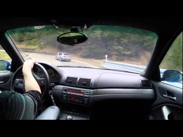BMW E36 E46 M3 tour streetdrifting public mountain roads Schwarzwald Germany
