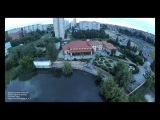 Небо в перерыве между ливнями 1 июля в Тольятти