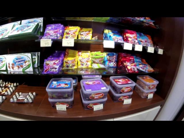 🚩VLOG. Фирменный магазин ROSHEN в Борисполе. Очень много сладостей. Цены на продукты.