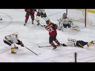 Миннесота - Нэшвилл 5-2. 19.02.2017. Обзор матча НХЛ