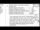 New SAT - Official Test 2 - Math Section 4 - Q1-20