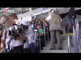 Владимир Путин и звезды суперсерии СССР-Канада  смотрят в Сочи хоккей