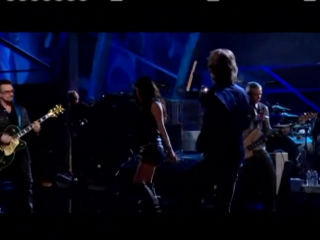 """U2, Mick Jagger, Fergie - """"Gimme Shelter"""" at the Rock and Roll Hall of Fame 25th Anniversary Shows"""