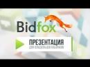 BidFox для Владельца пабликов