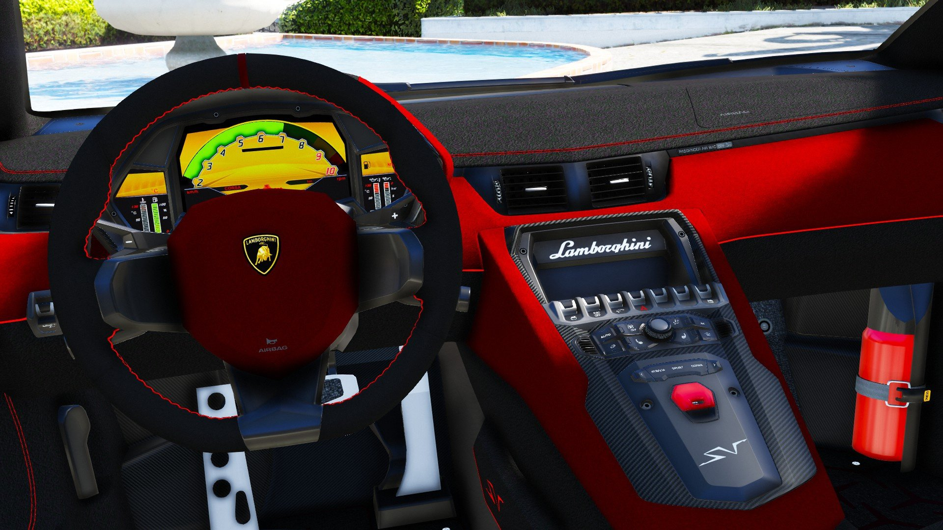 Lamborghini Aventador LP 750-4 SV 2015 [Add-On] для GTA V - Скриншот 1