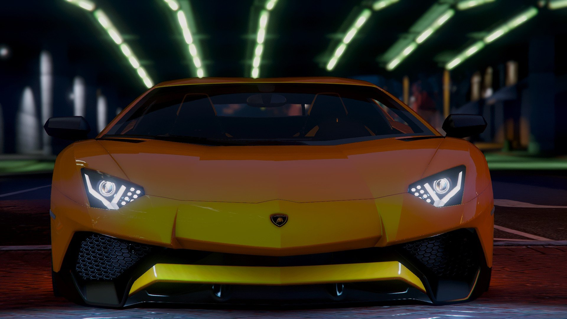 Lamborghini Aventador LP 750-4 SV 2015 [Add-On] для GTA V - Скриншот 2