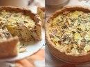 Пирог с курицей и картофелем.
