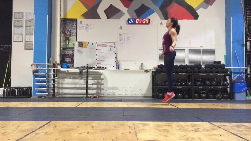 Саяхова Регина, Crosslife Challenge1