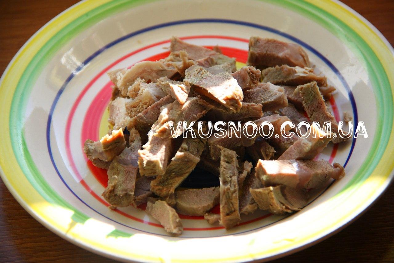 Салаты с говядиной и маринованным луком рецепты с