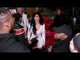Kylie Jenner and her BF Tyga struggle to find their ride after the Philipp Plein fashion show