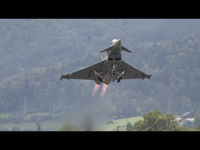 The Best Air Maneuver in The World ( Eurofighter Typhoon )
