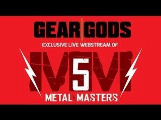 Metal Masters 5 LIVE at NAMM 2014 (members of Slayer, Pantera, Anthrax, more)   GEAR GODS