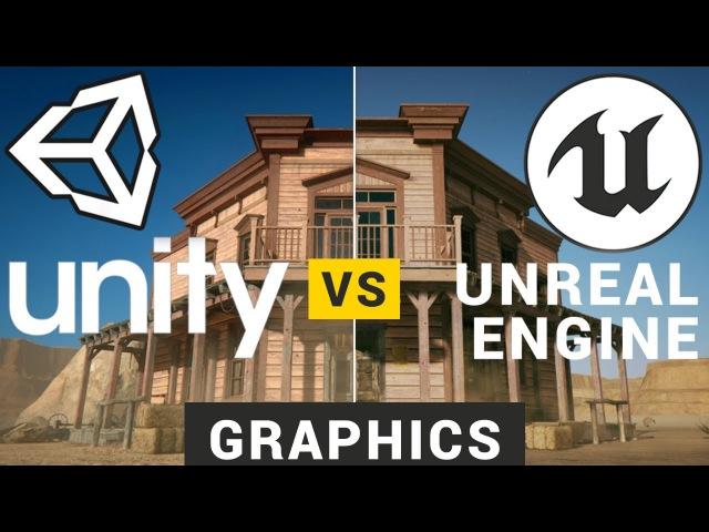 Unity vs Unreal Engine | Graphics Comparison
