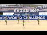 Сборная команда России в ГУ - 3 мяча + 2 скакалки(многоборье)