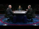 В США провели дебаты кандидаты ввице‐президенты Майкл Пенс иТимоти Кейн. Новости. Первый канал