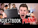 SHOCKING GUESTBOOK PRANK