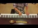 Старинные часы Алла Пугачёва (Старинные часы свидетели и судьи) пианино кавер piano cover