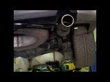Это Владивосток, глушитель на Lexus GX 460 из кардана Toyota Caldina