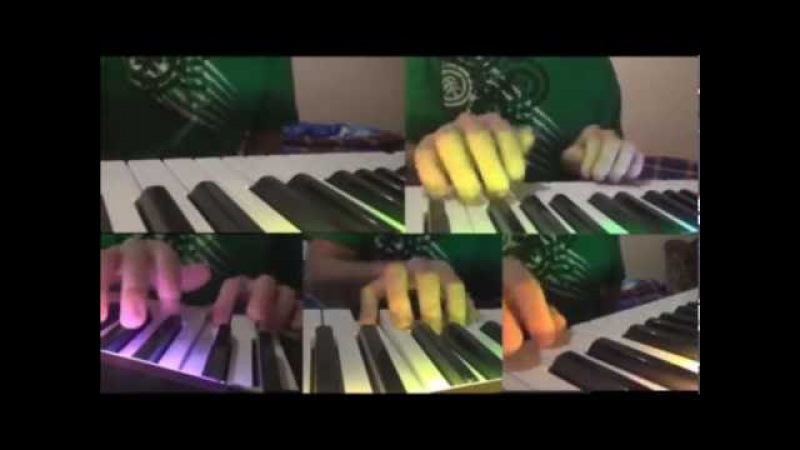 Mark Ronson - Uptown funk   Multitrack piano keyboard cover