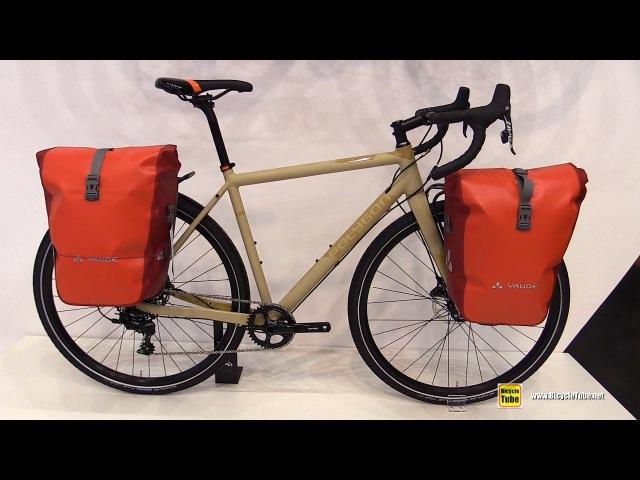 2017 Polygon Bend Riv Bike with Vaude Bags - Walkaround - 2016 Eurobike