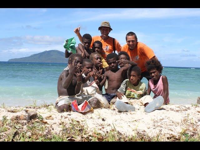 Дикари Тихого Океана - Фиджи, Вануату, Самоа. Кругосветка