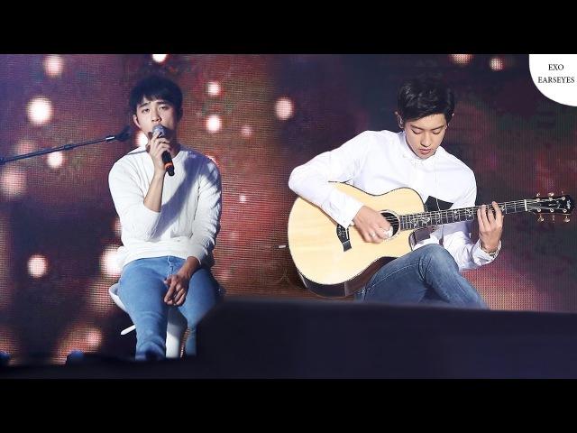EXO D.O. ft. Chanyeol - Boyfriend (Live)︱Justin Bieber [KRENTH CC]