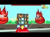 Мультики про #машинки Пожарная машина мультфильм! Обучающие мультфильмы Видео д...