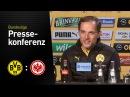 Thomas Tuchel: Außergewöhnlicher Charakter der Mannschaft | BVB - Eintracht Frankfurt 3:1