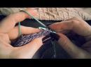 Как сшивать вязаные изделия. КРЮЧКОМ! Идеальный машинный шов!