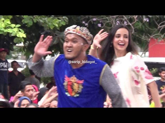 Caisar Bintang Khushi _ Rangrasiya, ( Sanaya Irani _ Joget Bareng Pertama di Pesbukers