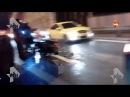 Авария с участием 2 мотоциклов грузовика и легковушки произошла на западе Москвы