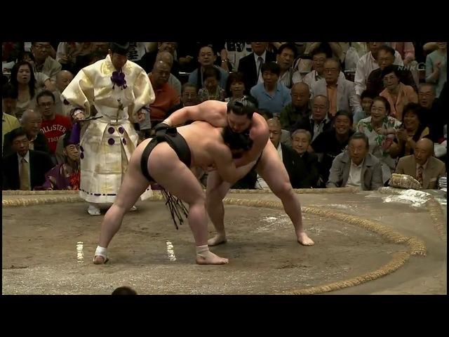 Hakuho vs Harumafuji-23.09.12 白鵬 VS 日馬