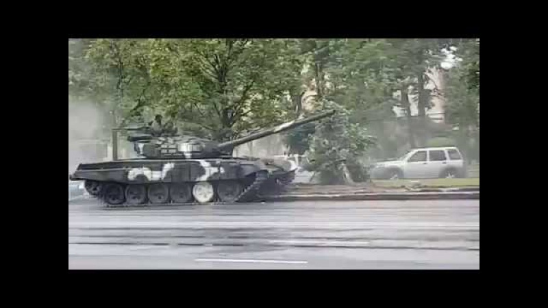 Army Fails Funny Video - Speeding Tank On Road