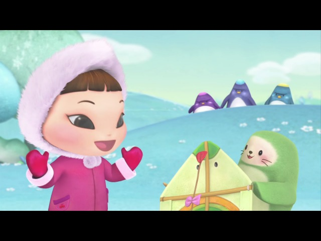 Киока - Воздушный змей - Добрые мультфильмы для девочек и мальчиков